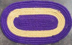 Polyester Oval Door Mat