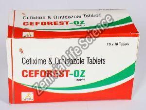 Ceforest-OZ Tablets