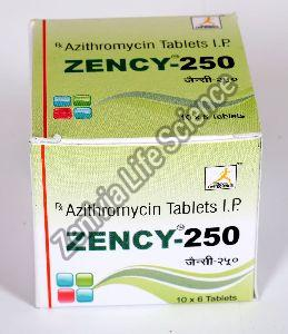 Zency-250 Tablets