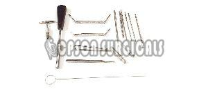 4.0mm Cannulated Instrument Set