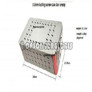 5.0mm Locking Screw Empty Box