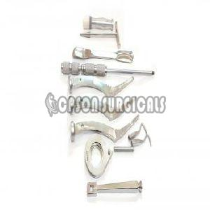 Orthopedic Modular Stem Bio Polar Instrument Set