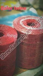 Red Nylon Baler Twine