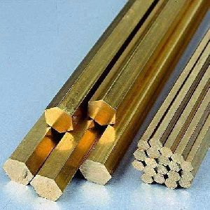 Brass Hexagonal Rods