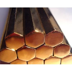 Copper Hexagonal Rods