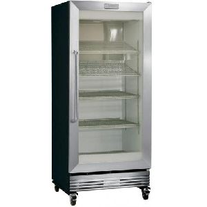 Stainless Steel Glass Door Refrigerator