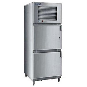 Stainless Steel Two Door Refrigerator