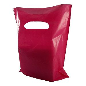 D Cut Plastic Carry Bags