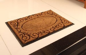 Rubber Moulded Coir Brush Mat