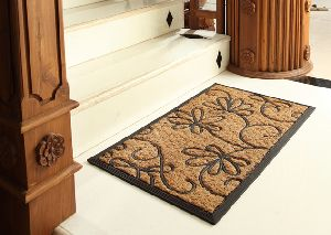 Rubber Moulded Coir Non Brush Mat