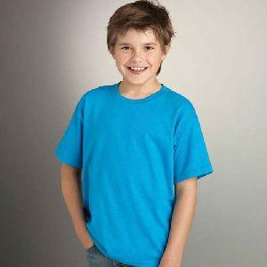 Boys Plain T-Shirts