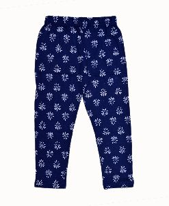 Girls Cotton Printed Capri
