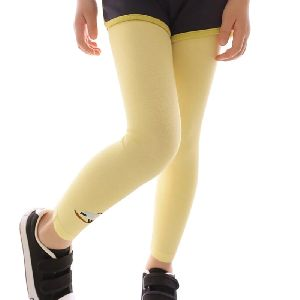Girls Lycra Cotton Leggings