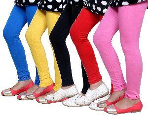 Girls Plain Leggings