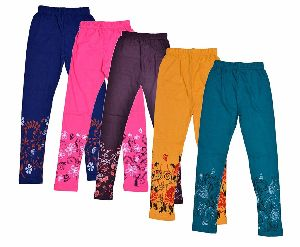 Girls Printed Leggings