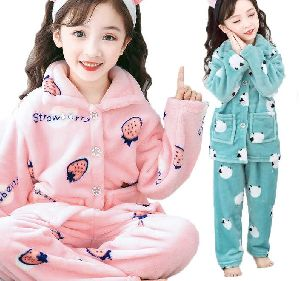Girls Winter Night Suit