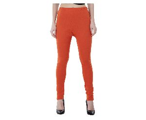 Ladies Woolen Plain Legging