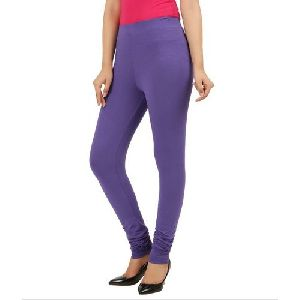 Semi Combed Cotton Lycra Leggings