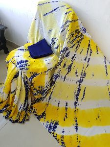 Fancy Hand Block Printed Sarees