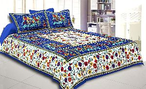 Jaipuri Print Bed Sheet