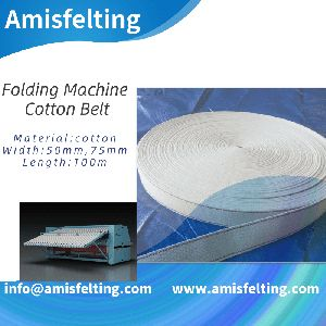 Feed Fold Belt For Laundry Machines