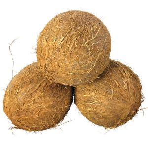 Fully Husked Brown Coconut