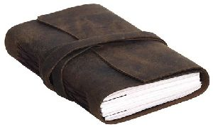 Beige Leather Journal