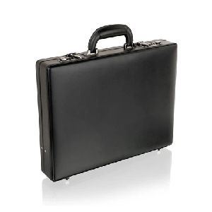 Black Leather Attache Case