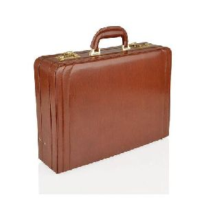 Brown Leather Attache Case