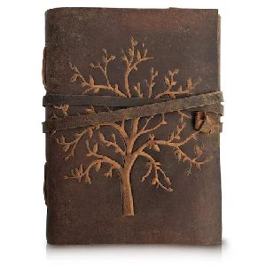 Colorful Leather Journal
