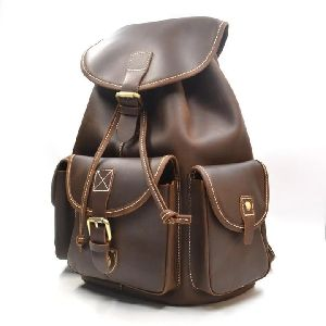 Leather Vintage Rucksack