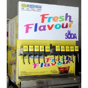 11 Flavor Soda Fountain Machine