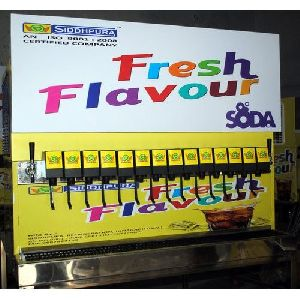 16 Flavor Soda Dispenser Machine