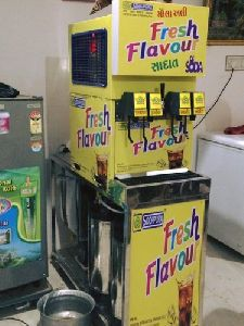5 Flavor Soda Fountain Machine