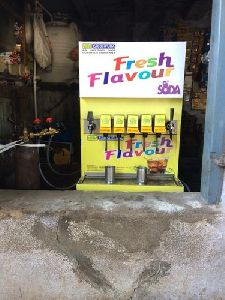7 Flavor Soda Fountain Machine