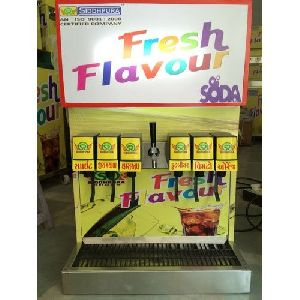 7 Flavor Soda Vending Machine