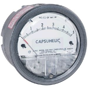 Capsuhelic Differential Pressure Gages