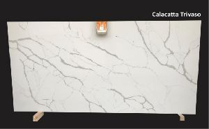 Calcatta Trivaso Crystal Quartz Slabs