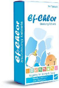 Ef - Chlor Sterilising Tablets