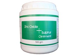 Zinc Oxide and Sulphur Ointment