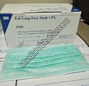 3 Ply Earloop Surgical Face Mask
