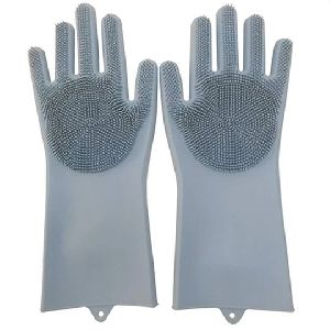 Dish Washing Cleaning Sponge Gloves