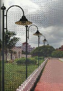 Mild Steel Garden Light Pole