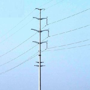 Transmission Power Line Pole