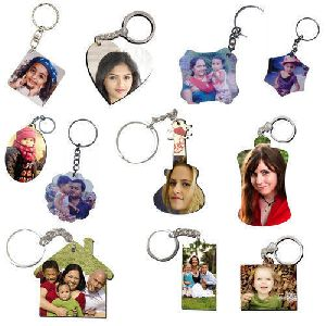 Sublimation Wood Key Chain