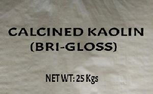Bri Gloss Calcined Kaolin Powder