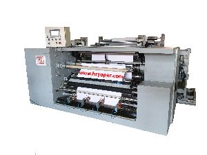 Automatic Tape-Less Turret Slitting Rewinding Machine.