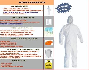 PPE KIT ( PERSONAL PROTECTION EQUIPMENT )