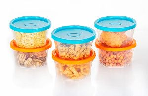 Plastic Snacks Container