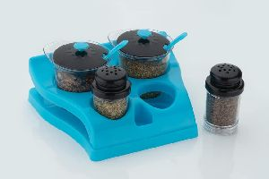 Plastic Spice Container Set